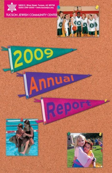 2009 Annual Report - Tucson Jewish Community Center