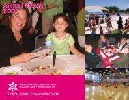 2007 Annual Report - Tucson Jewish Community Center