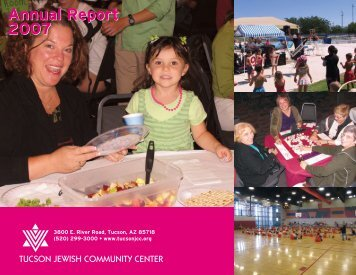 2007 Annual Report - Tucson Jewish Community Center