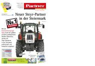Neuer Steyr-Partner in der Steiermark