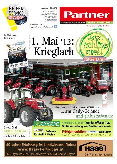 1. Mai'13: Krieglach