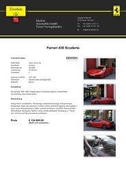 Ferrari F430 Spider F1 - bei Eberlein Automobile Gmbh