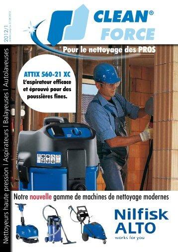 Pour le nettoyage des PROS Notre nouvelle gamme de ... - Cleanforce