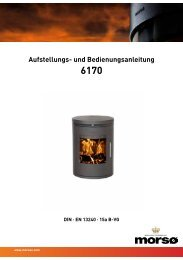 Betriebsanleitung - Bei Feuer-Fuchs einen hochwertigen Kaminofen ...