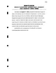 minute book - Harrison County