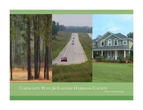 COMMUNITY PLAN for EASTERN HARRISON COUNTY
