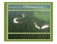 COMMUNITY PLAN for WESTERN HARRISON COUNTY