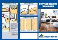 Fertigparkett verlegen - Bauzentrum Mehring