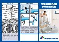 2. Waschtisch montieren - Bauzentrum Mehring