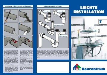 7. Installation - Bauzentrum Mehring
