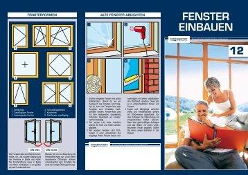 12. Fenster einbauen