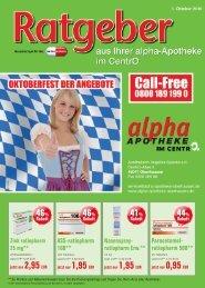 Alpha 1010 - alpha Apotheke im CentrO