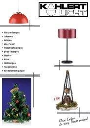 Kahlert Licht Katalog 2014