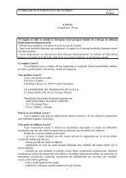 LANVIS Comprimate, 40 mg Vă rugăm să citiţi cu atenţie în ...