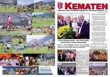 Gemeindezeitung Kematen7_03 - Kematen in Tirol