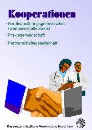 a) örtliche Berufsausübungsgemeinschaft - Kassenzahnärztliche ...
