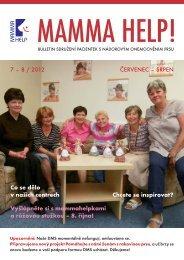 7 – 8 / 2012 ČERVENEC – SRPEN Co se dělo v ... - Mamma HELP
