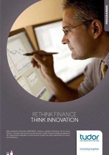 RETHINK fINaNcE THINK INNOVATION - CRP Henri Tudor