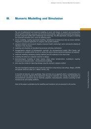 III. Numeric Modelling and Simulation - CRP Henri Tudor