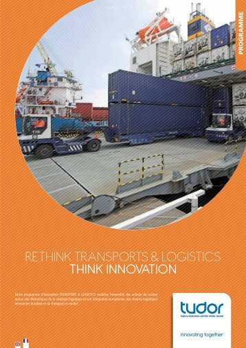 RETHINK TRaNspoRTs & logIsTIcs THINK ... - CRP Henri Tudor
