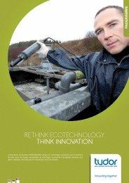 RETHINK EcoTEcHNology THINK INNOVATION - CRP Henri Tudor