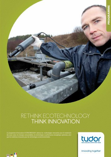 RETHINK EcoTEcHNology THINK INNOVATION - CRP Henri Tudor