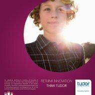 RETHINK INNOVATION THINK TUDOR - CRP Henri Tudor