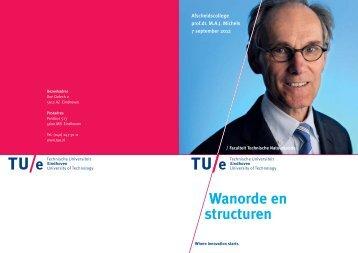 Uitnodiging Michels - Technische Universiteit Eindhoven