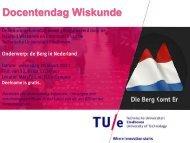 Uitnodiging en programma - Technische Universiteit Eindhoven