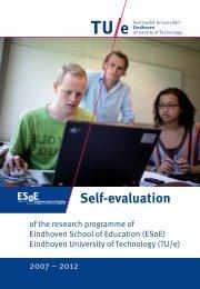 Self-evaluation - Technische Universiteit Eindhoven