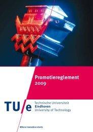 Promotiereglement 2009 - Technische Universiteit Eindhoven