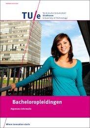 Bacheloropleidingen - Technische Universiteit Eindhoven