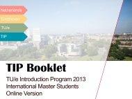 The TIP booklet 2013 - Technische Universiteit Eindhoven