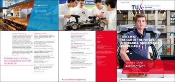 undergraduate program Automotive