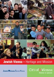 Jewish Vienna – Heritage and Mission
