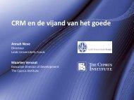 CRM en de vijand van het goede - Technische Universiteit Eindhoven