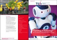 Brochure technical specializations and Calculus