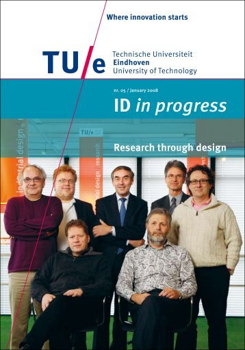 Brochure 'ID in progress: Research through design'