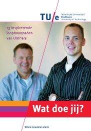 Wat doe jij? 13 inspirerende loopbaanpaden van OBP'ers (PDF)