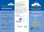 Stadtradeln 2008 - Tübingen macht blau