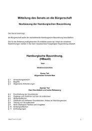 Hamburgische Bauordnung - Feuerschutz Holt