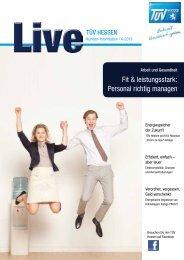 Ausgabe 04/2013 als PDF zum Download [3,2 MB] - TÜV Hessen
