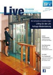 Ausgabe 03/2013 als PDF zum Download [2,0 MB] - TÜV Hessen