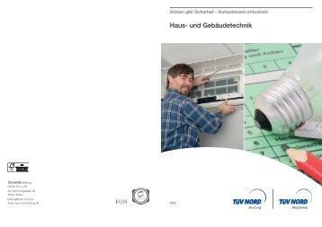 Haus- und Gebäudetechnik - TÜV Nord