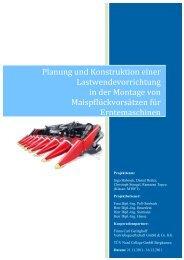 Planung und Konstruktion einer Lastwendevorrichtung ... - TÜV Nord