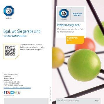 Projektmanagement – Termine 2014 [PDF] - TÜV Süd