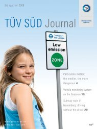 3rd quarter 2008 Particulate matter: the smaller, the more ... - TÜV Süd