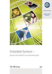 Embedded Systems – - TÜV Süd