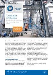 F_1401PIAT_FS Assessment im Anlagenbau.indd - TÜV Süd