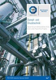 Dampf- und Drucktechnik - TÜV Süd